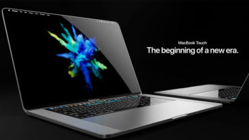 Macbook Touch Concept Image