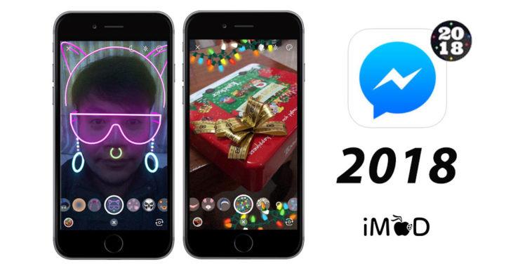 Messenger 2018 New Year Effect