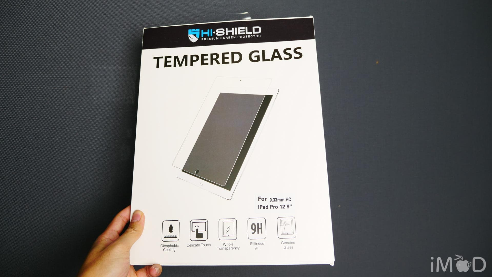 Hi Shield Ipad Tempered Glass 8298
