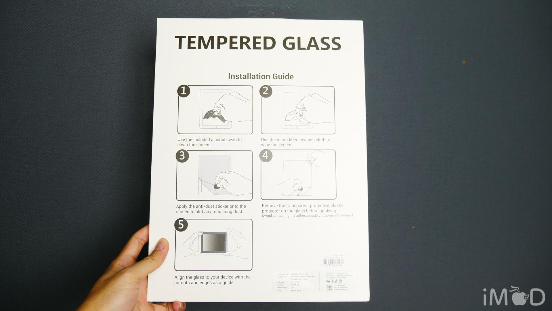 Hi Shield Ipad Tempered Glass 8300