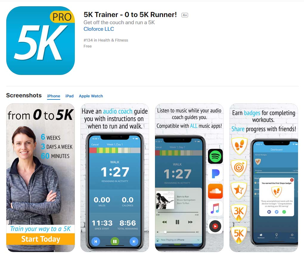 App 5ktrainer Content1