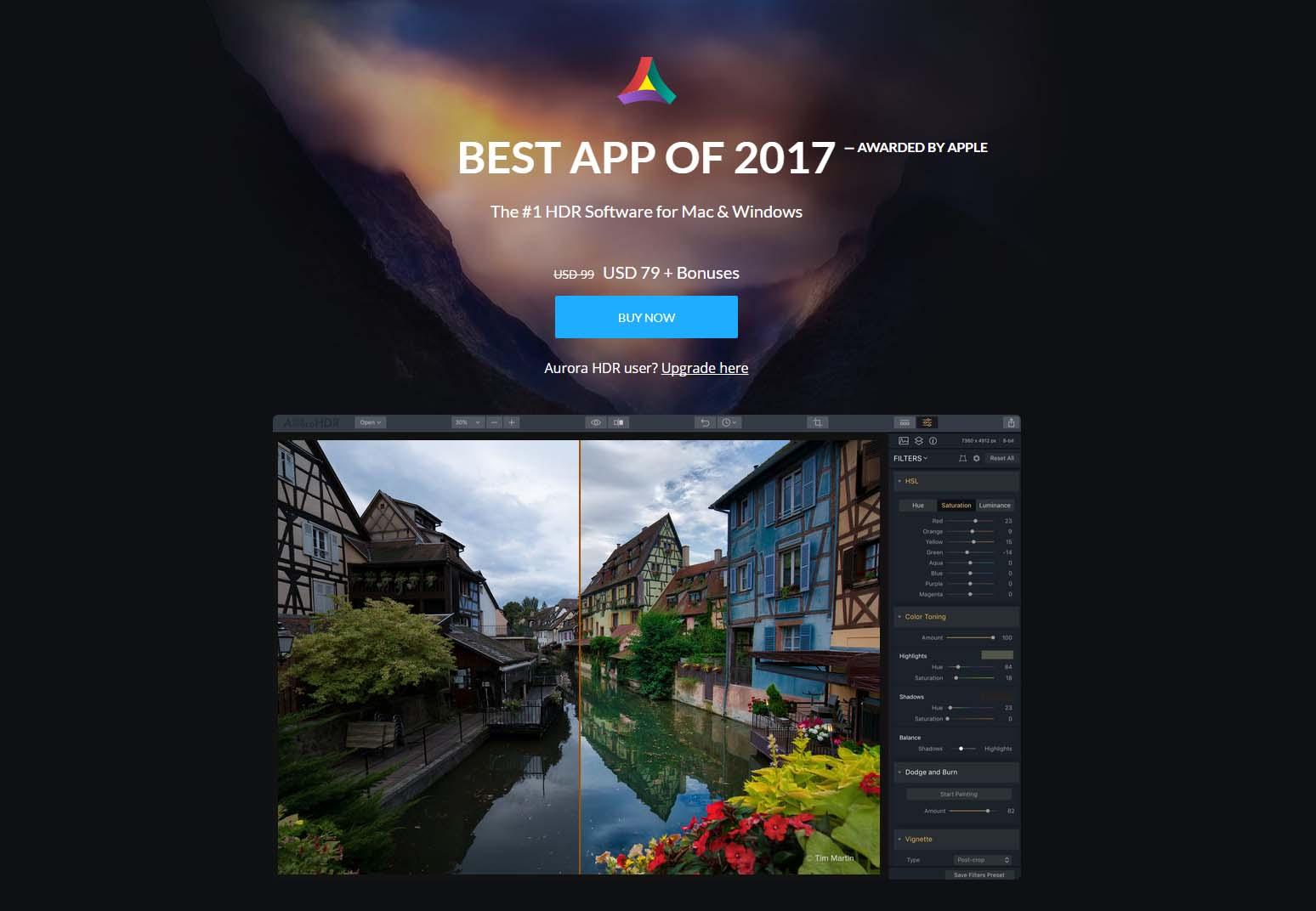 App Aurorahdr2018 Cover