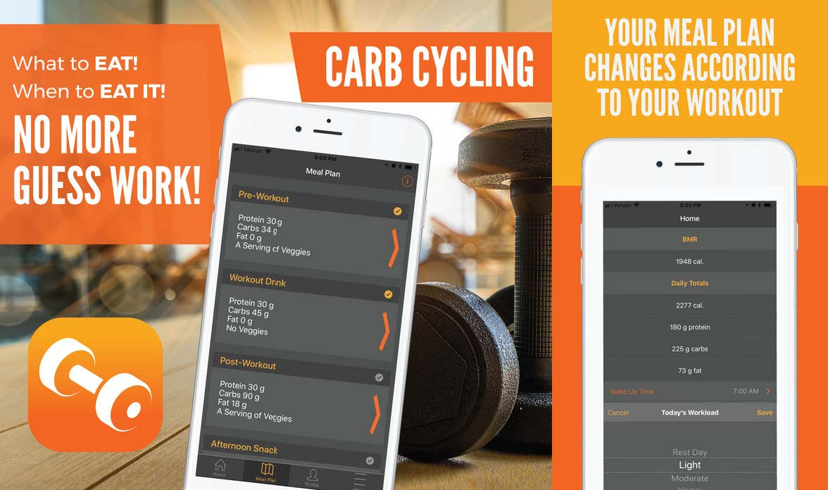 App Carbcycling Content1
