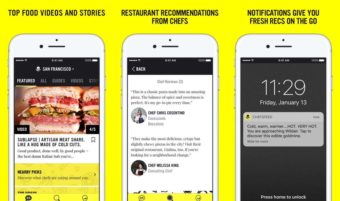 App Chefsfeed Cover