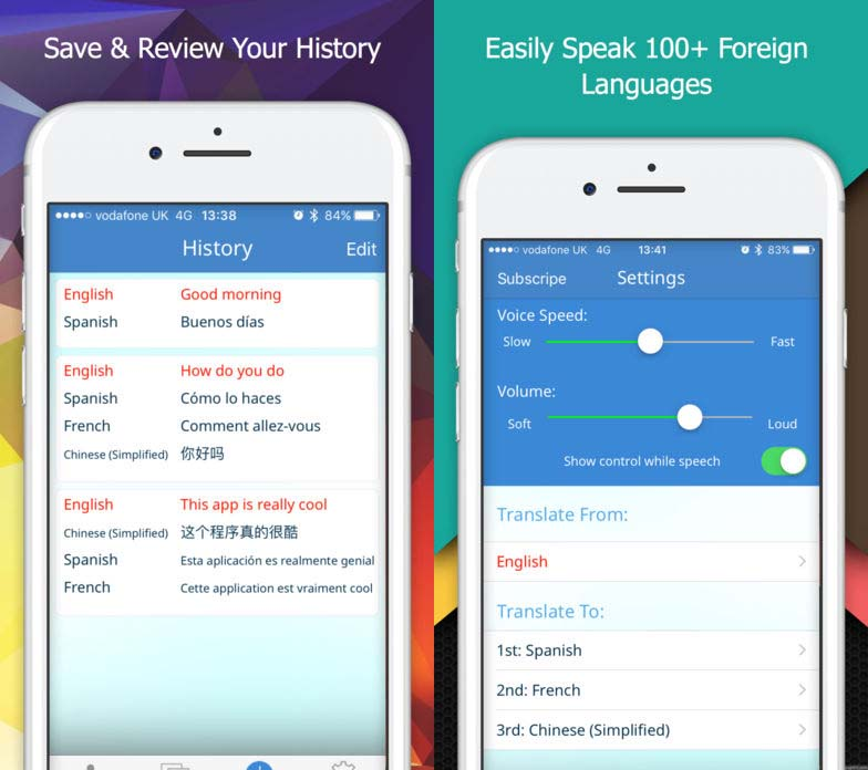 App Multitranslatevoice Content2