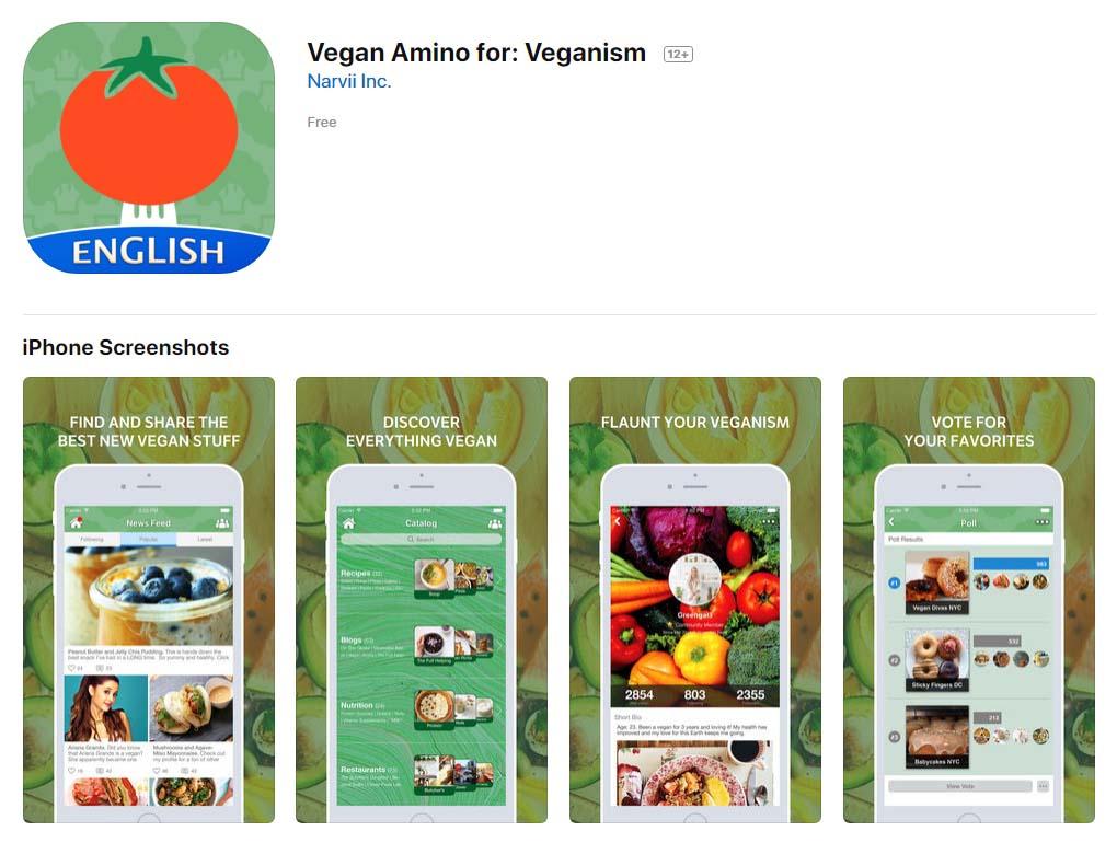 App Veganaminoforveganism Content1