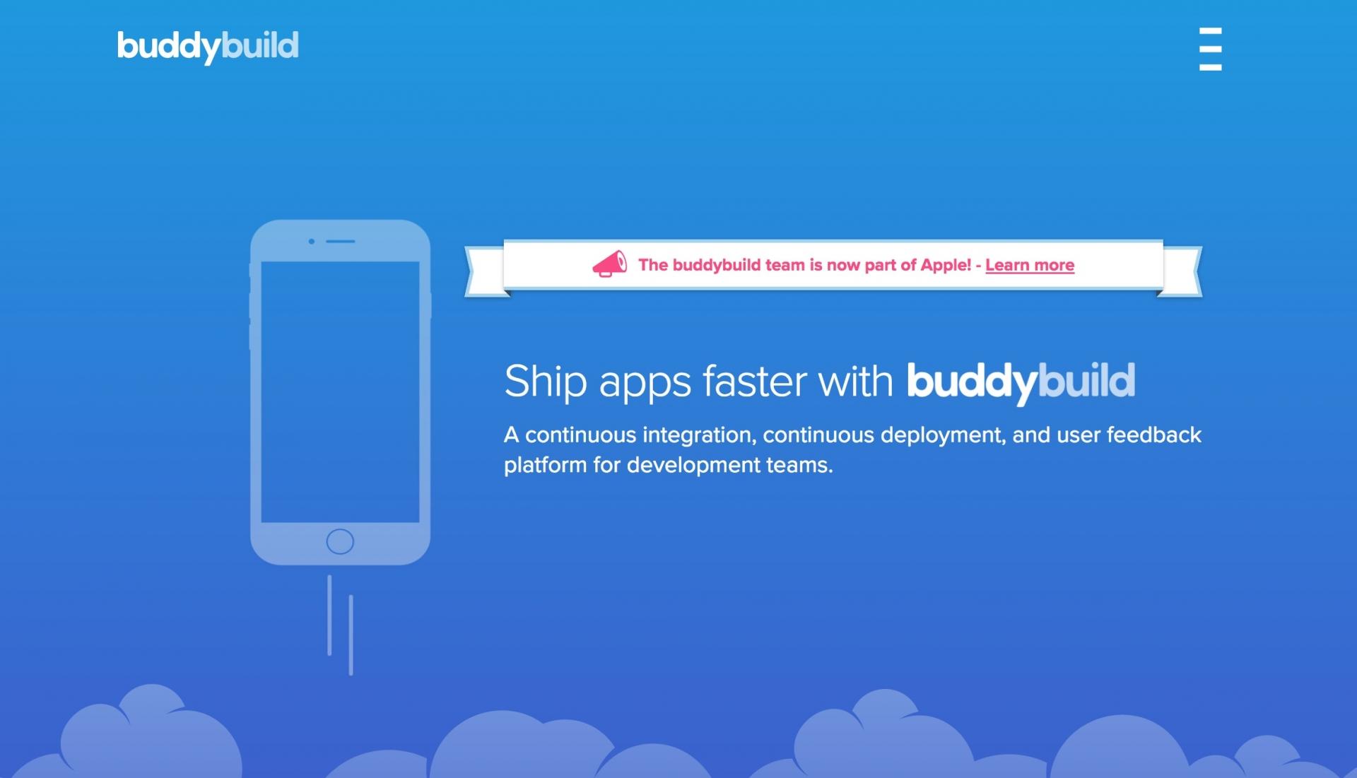 Apple Acquires Buddybuild 1