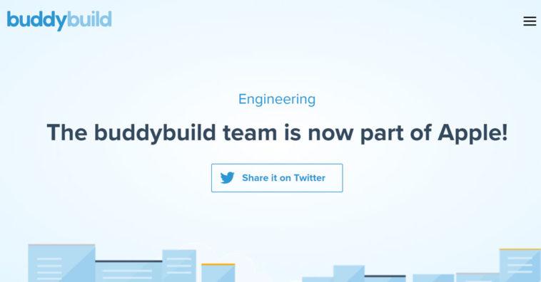 Apple Acquires Buddybuild