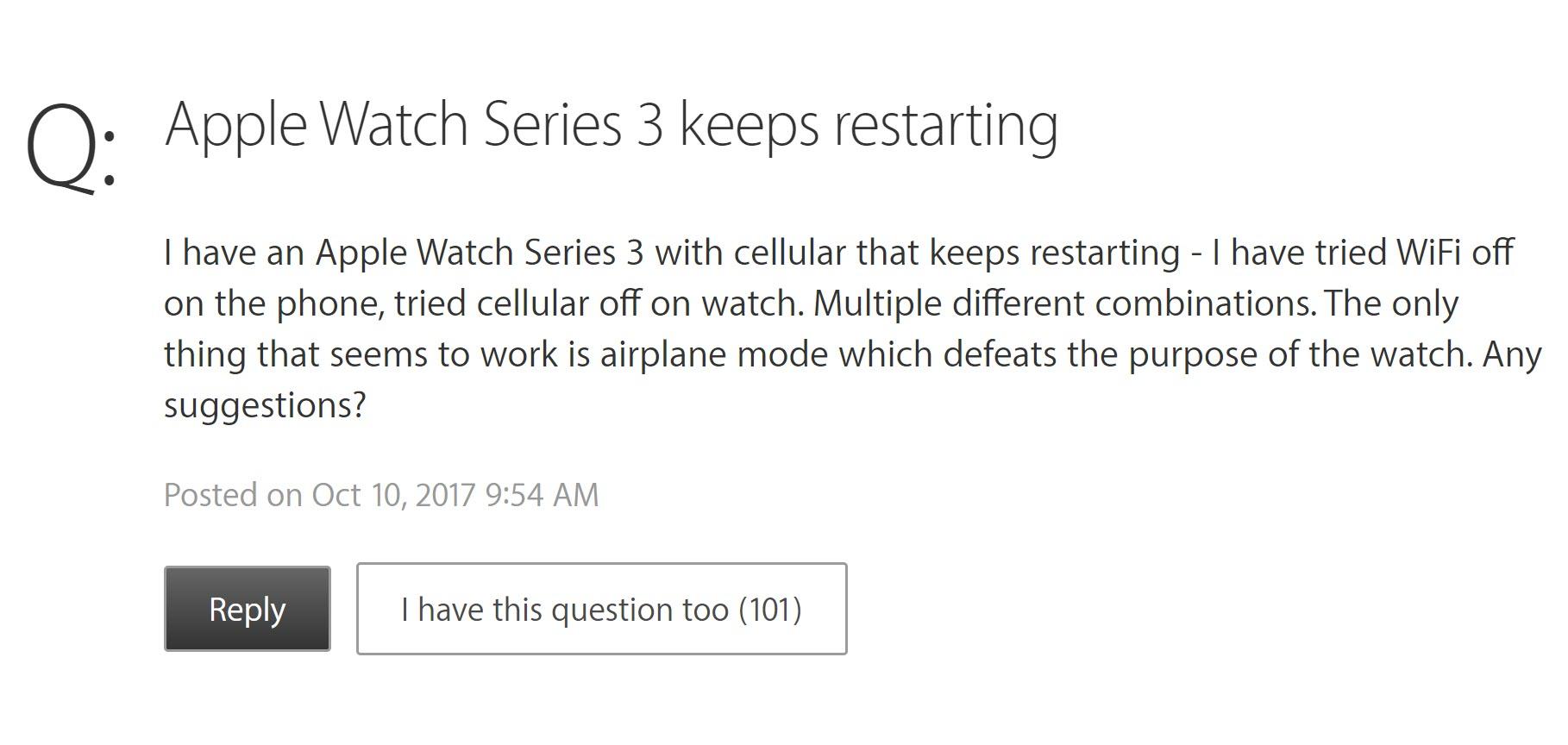 Apple Watch Series 3 Restart 1