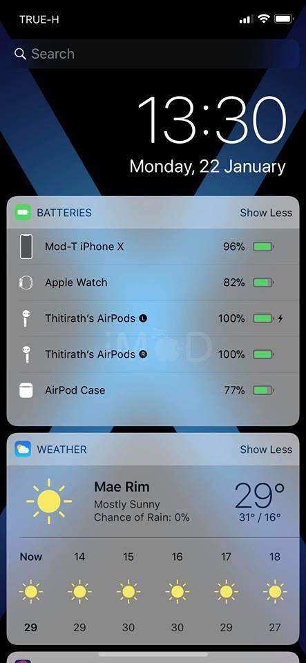 Battery Widget Ios 11 1 3