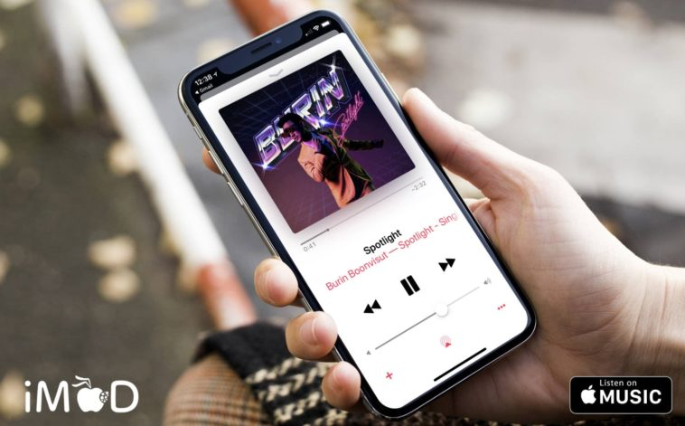 Burin Boonvisur Spotlight Apple Music Cover