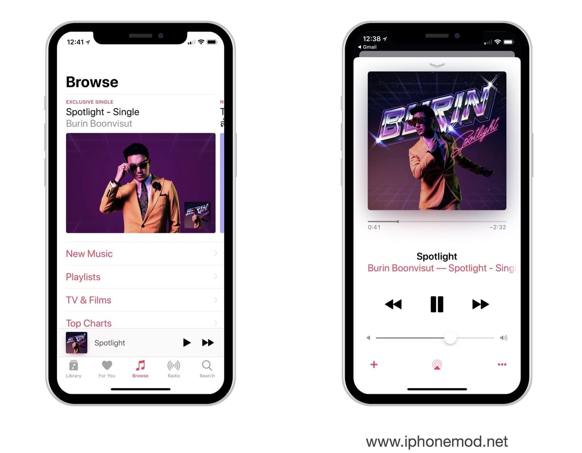 Burin Boonvisur Spotlight Apple Music Ss2