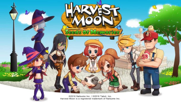 Game Harvestmoon Cover