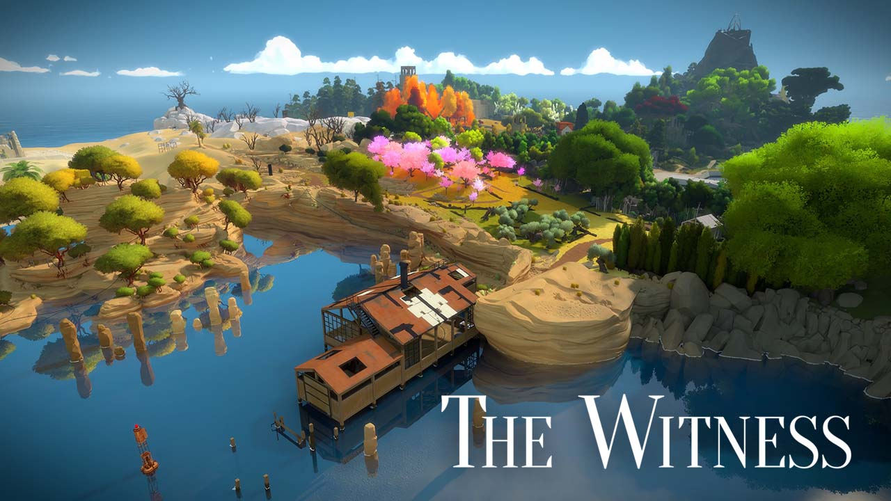 Game Thewitness Cover