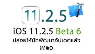 Ios 11 2 5 Beta 6