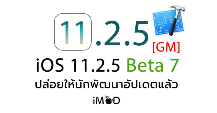 Ios 11 2 5 Beta 7 Gm