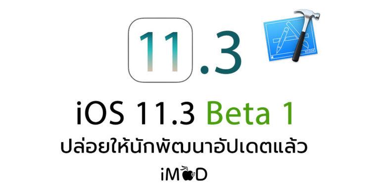 Ios 11 3 Beta 1