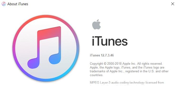 Itunes 12 7 3 Released 1