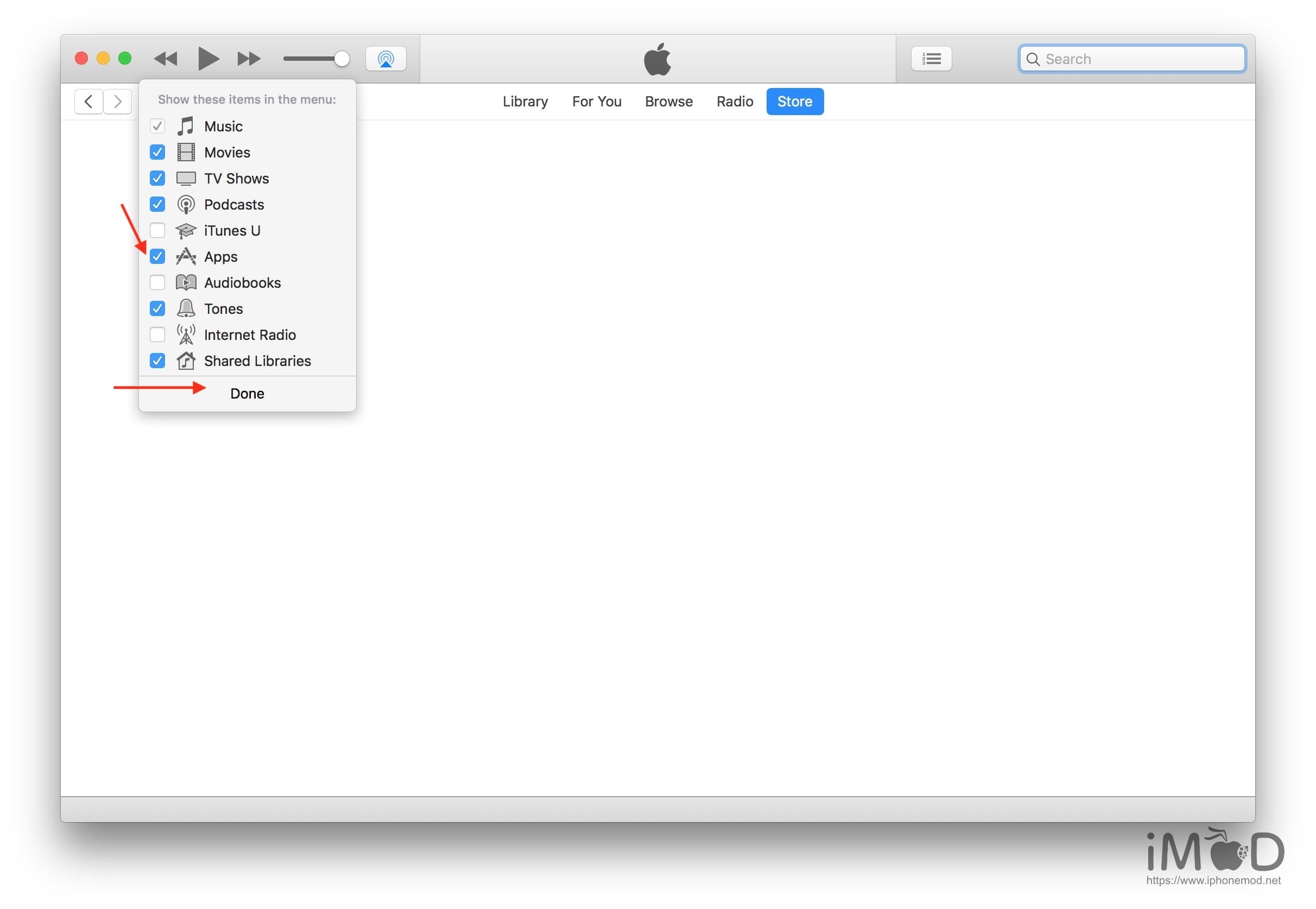 Itunes 12.6.3 With App Store 4