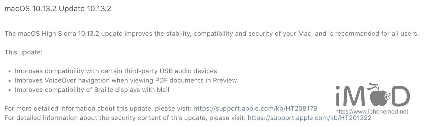 Macos 10.13.2 Update