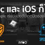 Meltdown Spectre Mac Ios All Effect