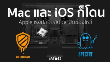 Meltdown Spectre Mac Ios All Effect