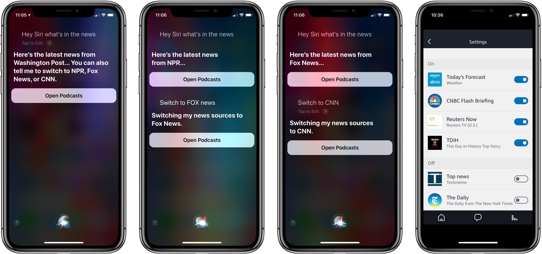 Siri News Podcasts 2