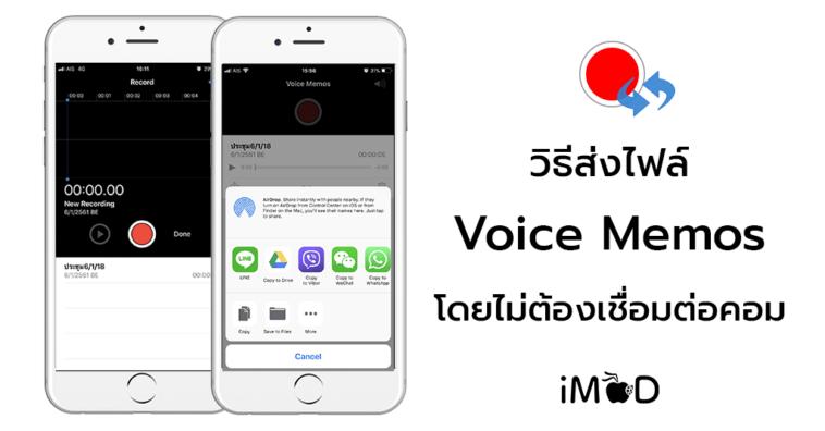 Transfer Voice Memos To Computer