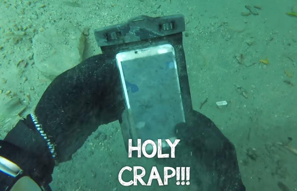 Underwater Detected Iphone 6s Plus 3