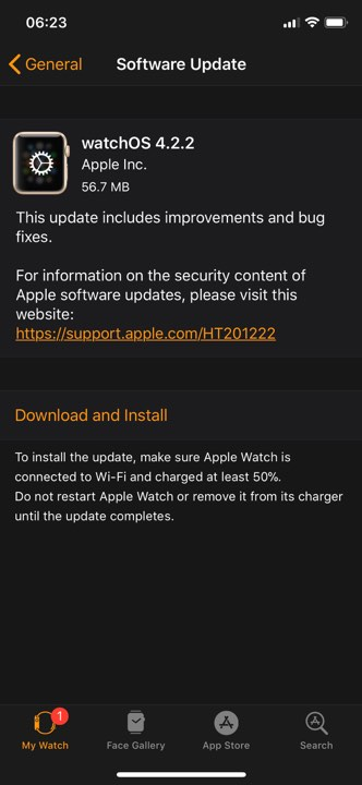 Watchos 4 2 2 Released 1