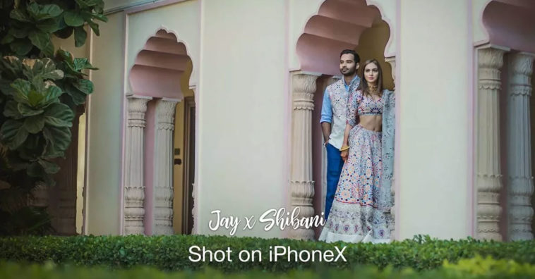 Wedding Video By Iphone X Cover