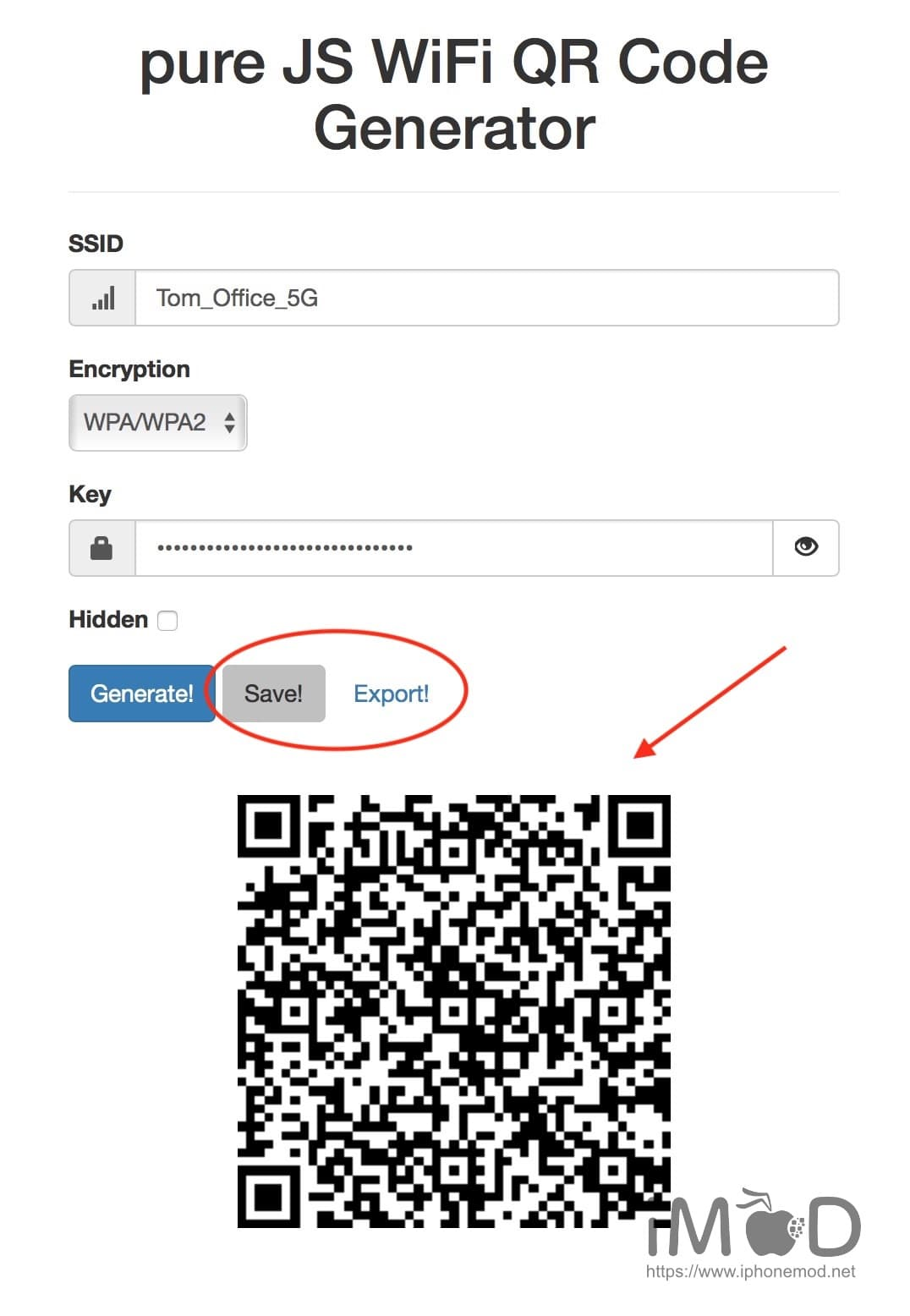 Wifi Connect Qr Code Generator 02