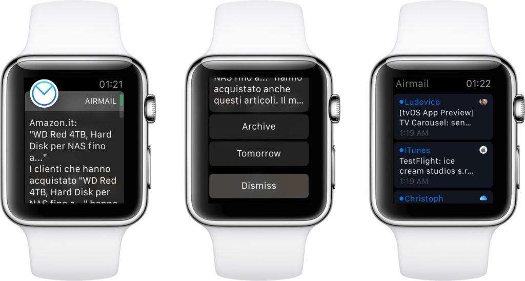 Air Mail App Apple Watch