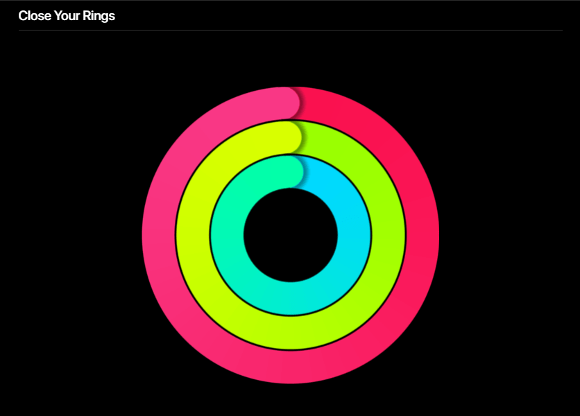 Apple Watch Close Your Ring Promote