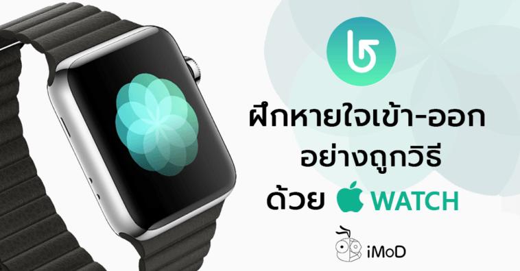 Breathe App Apple Watch