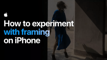 How To Experiment With Framing On Iphone