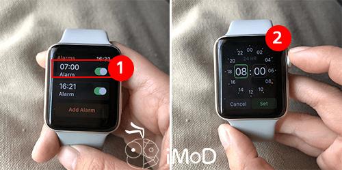 How To Set Alarm On Apple Watch 2