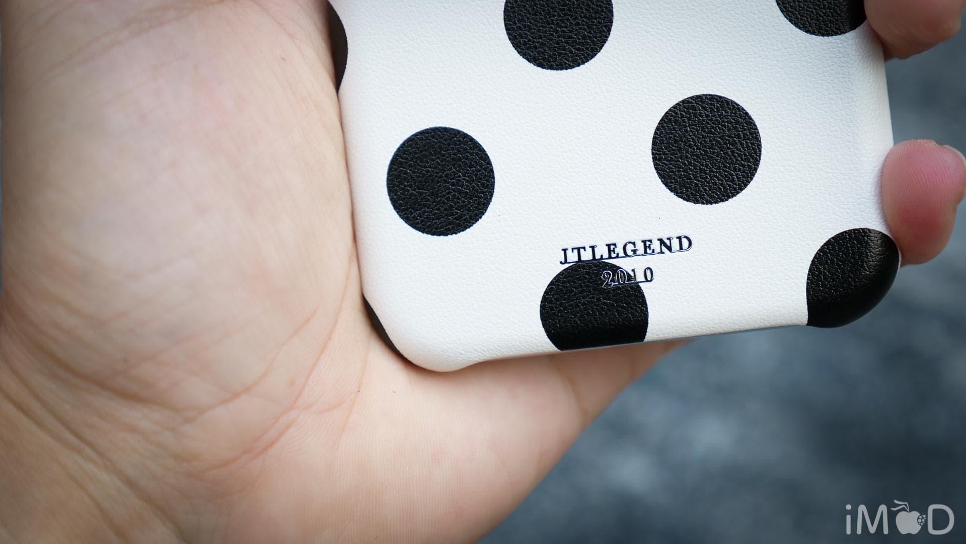 Jtlegend Pokla Leather Case Iphone X 8647