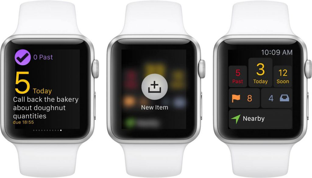 Omnifocus App Apple Watch