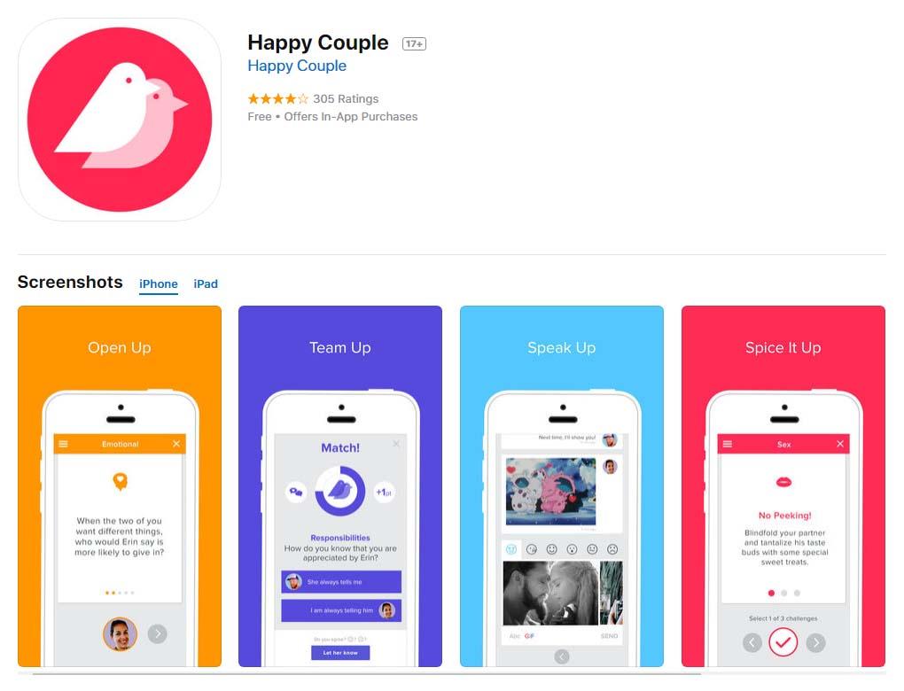 App Happycouple Content1
