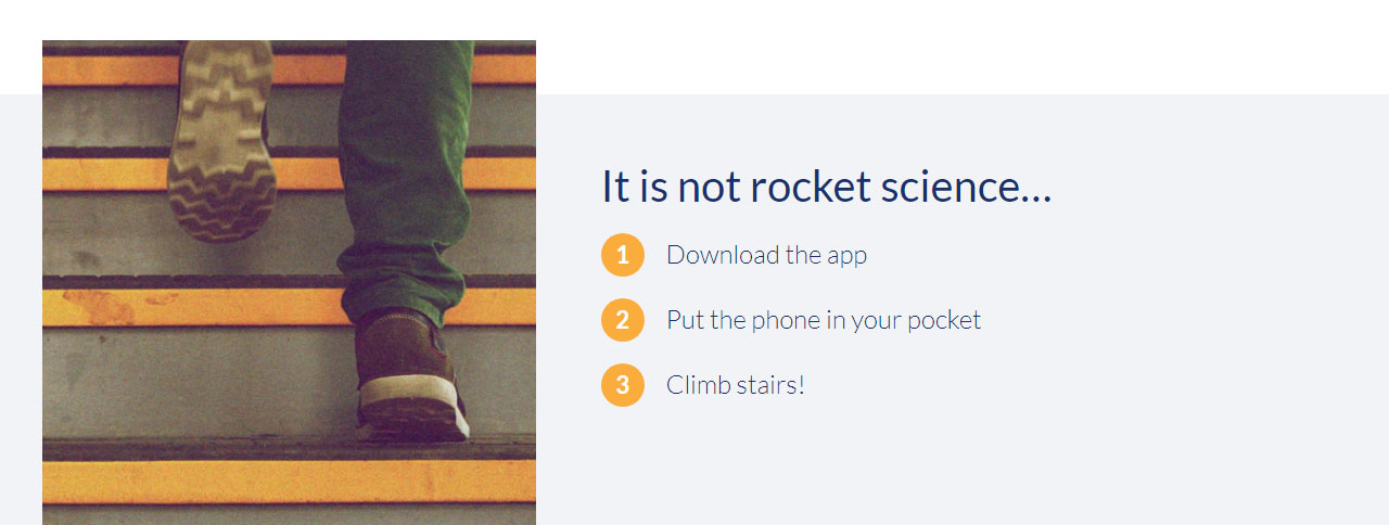 App Stairforce Content1