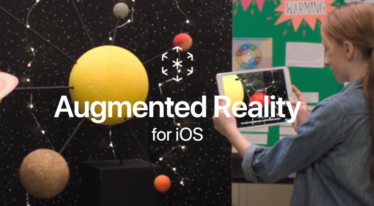 Apple Augmented Reality Website 1