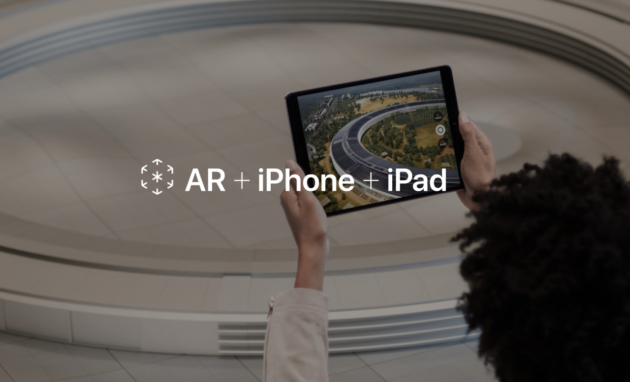 Apple Augmented Reality Website 2