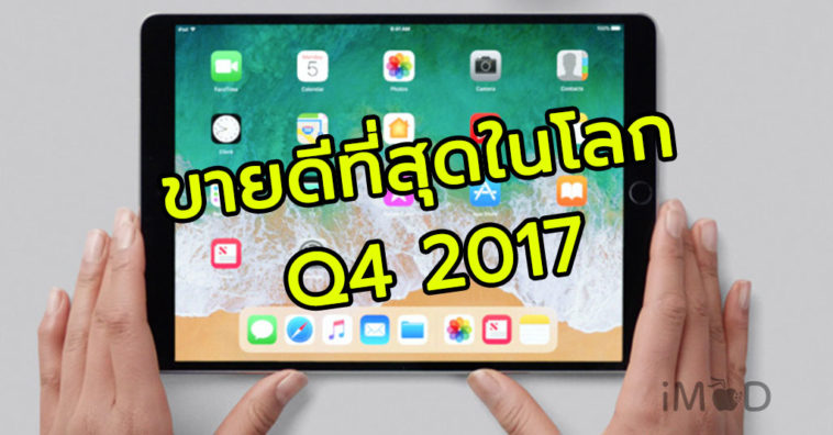 Apple Ipad Lead Tablet Global Market Q4 2017 Cover