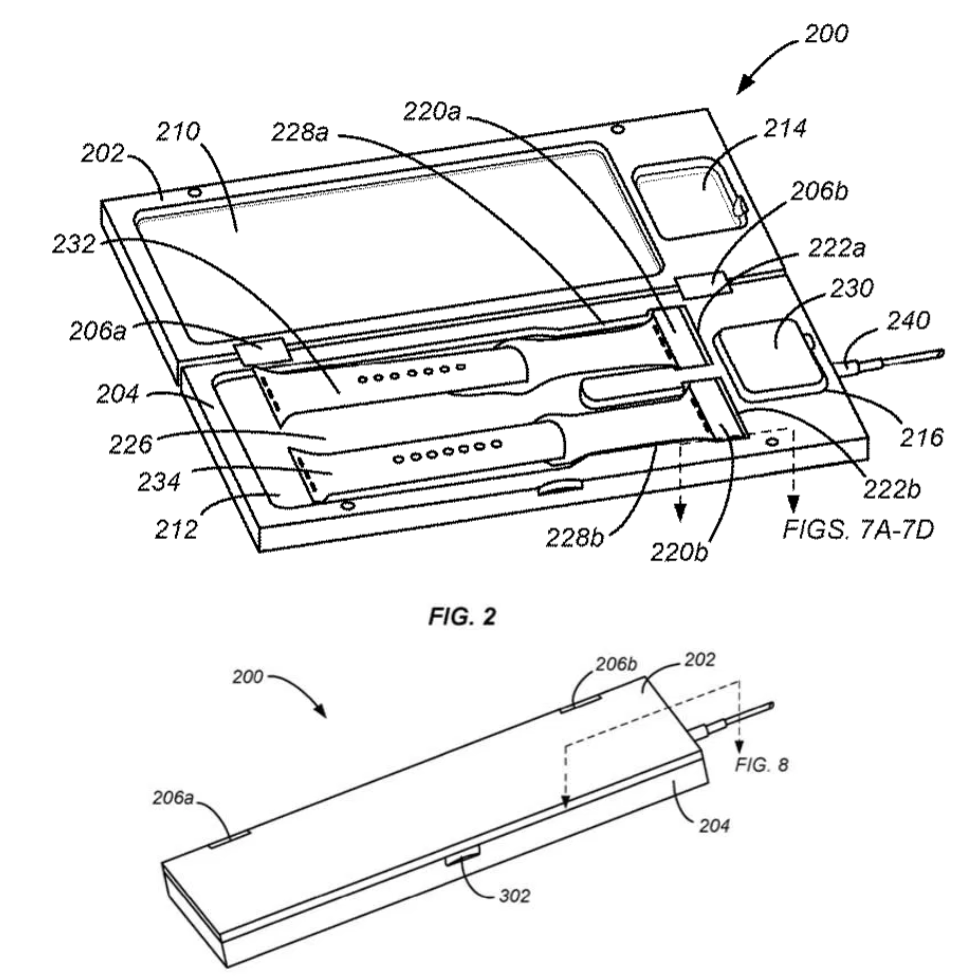 Apple Watch Charging Case Patent 1
