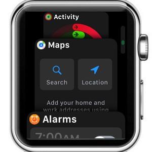 Apple Watch Vertical Dock In Watchos 4