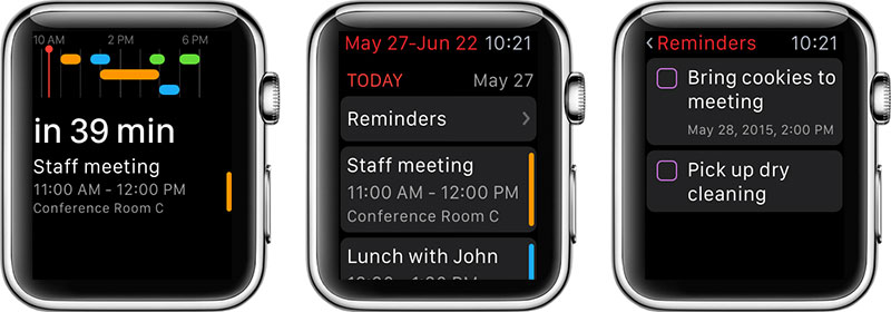 Fantastical2 App Apple Watch