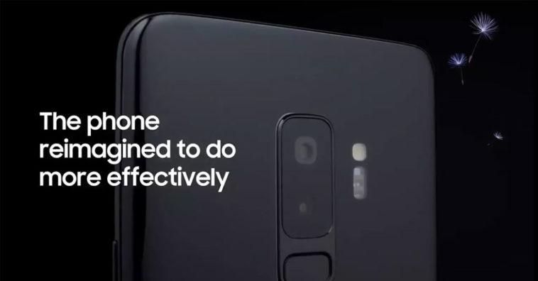 Galaxy S9 Promo Video Leaks