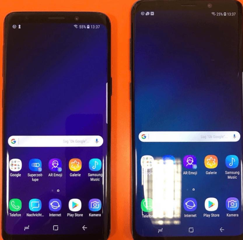 Galaxy S9 S9 Plus Device Photo 2