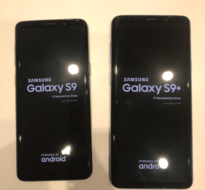 Galaxy S9 S9 Plus Device Photo 3